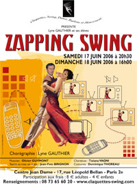 Spectacle de Claquettes Paris - Zapping Swing